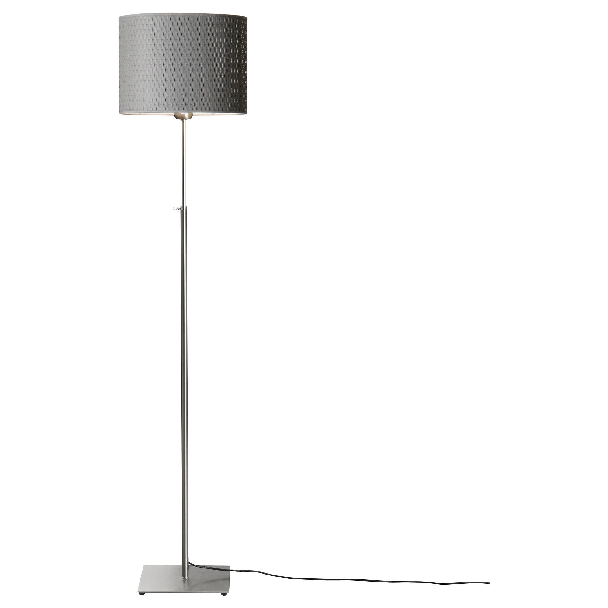 Silver Floor Lamps Attributes Modern