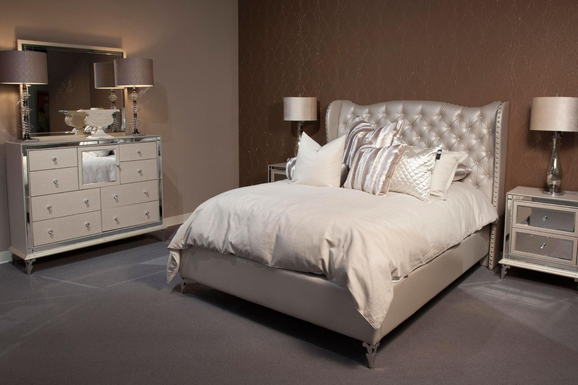 Silver Tufted Headboard Callforthedream