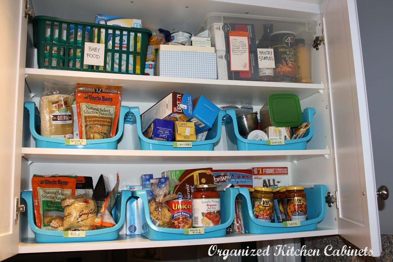 Simcoe Street Organizing Kitchen Cupboards Food Storage
