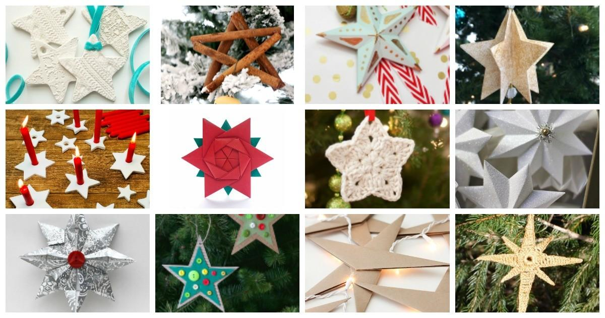 Simple Affordable Diy Star Christmas Ornaments Mum