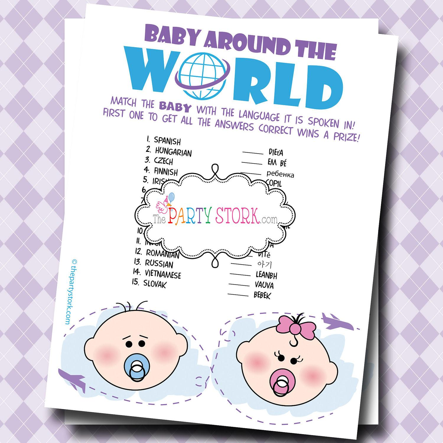 Simple Baby Shower Games Ideas Babywiseguides