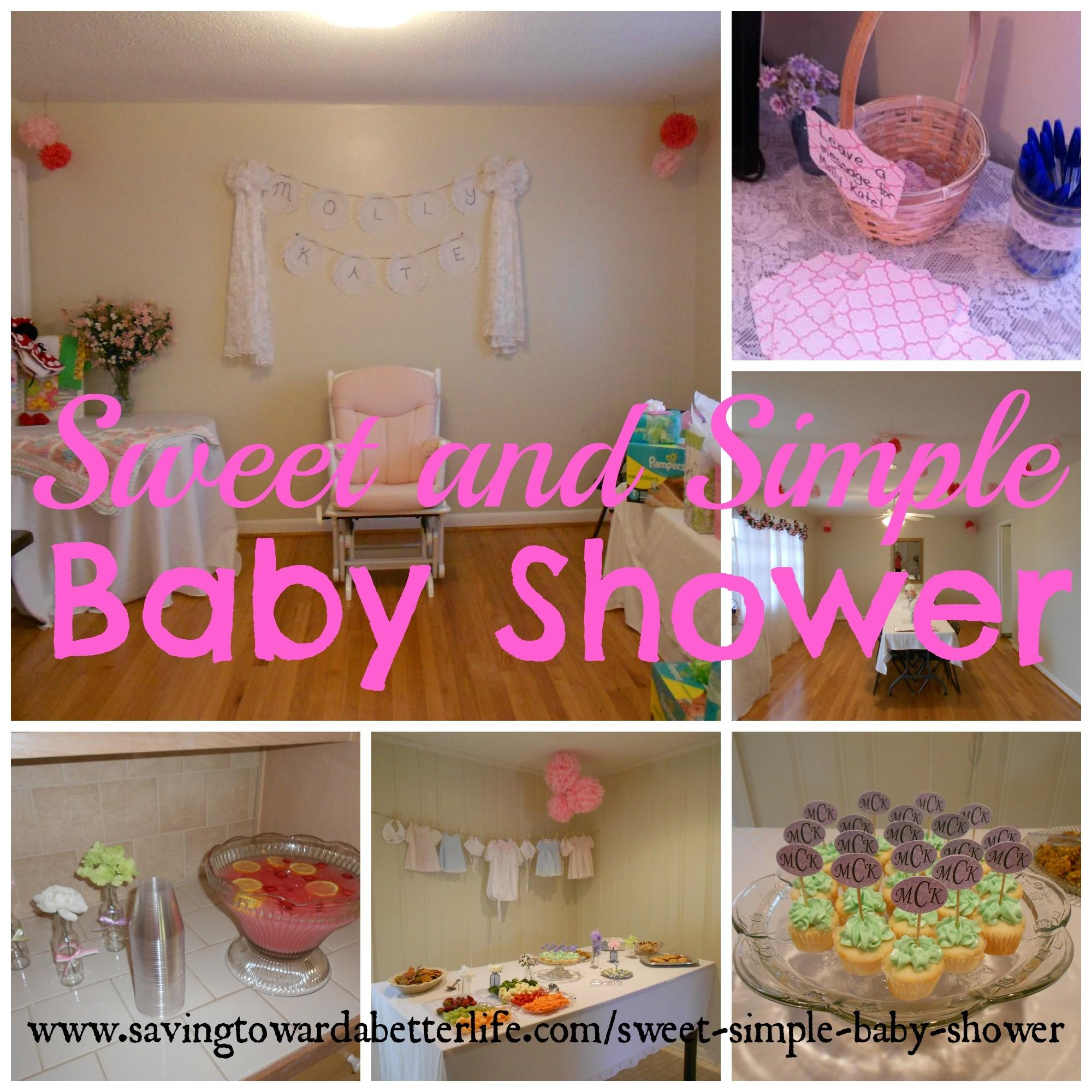 Simple Baby Shower Sorepointrecords