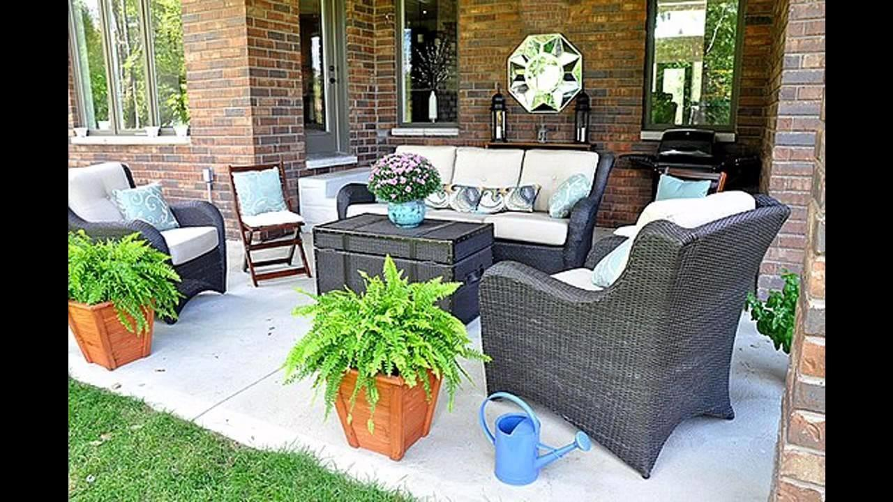 Simple Back Porch Decorating Ideas