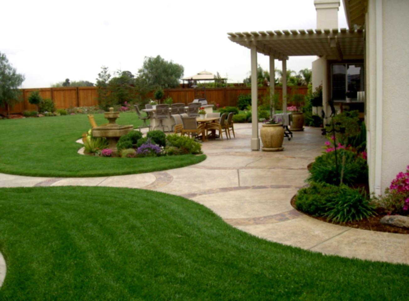 Simple Backyard Landscaping Ideas Design