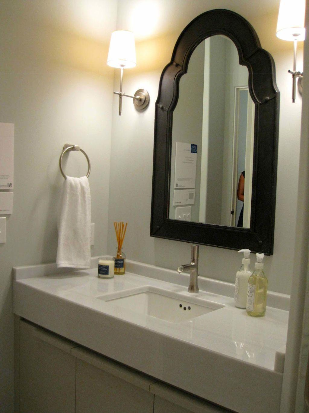 Simple Bathroom Vanity Lighting Ideas Single Sink
