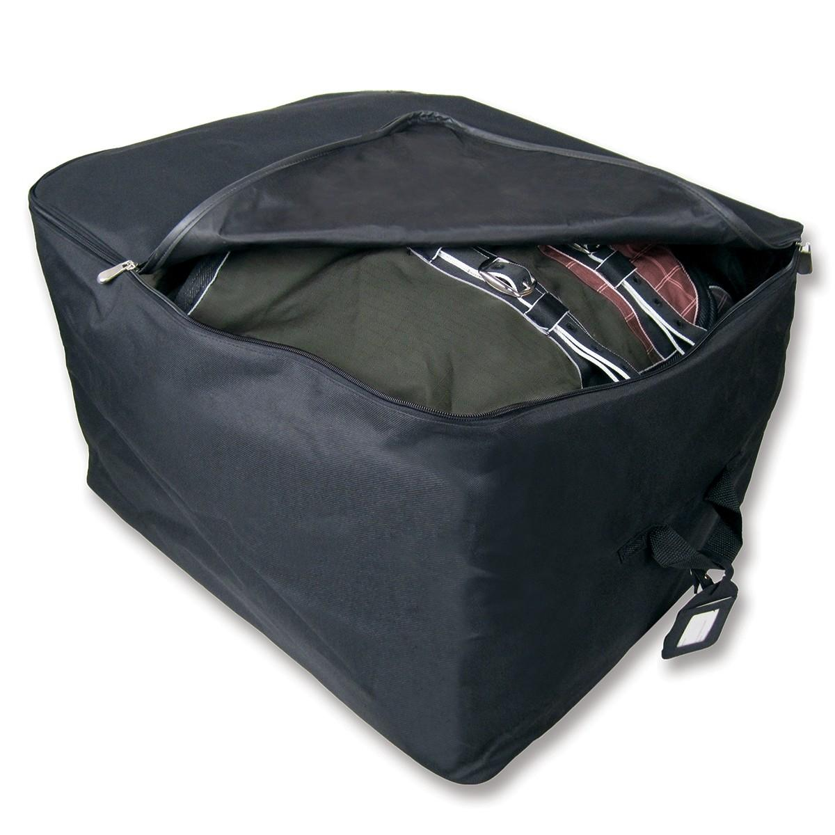 Simple Black Blanket Storage Bags Ideas