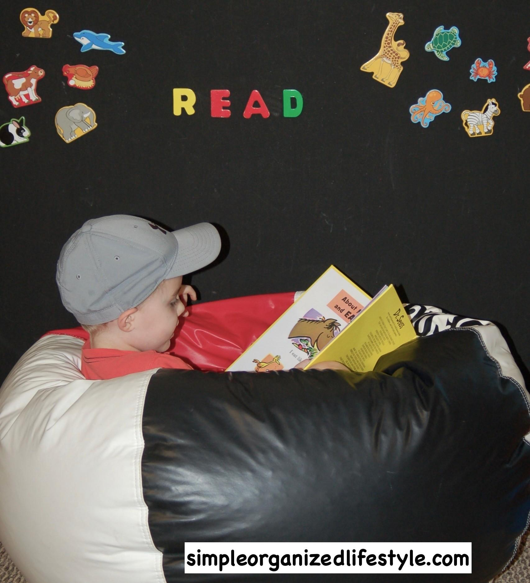 Simple Book Nook Ideas Toddlers Kids