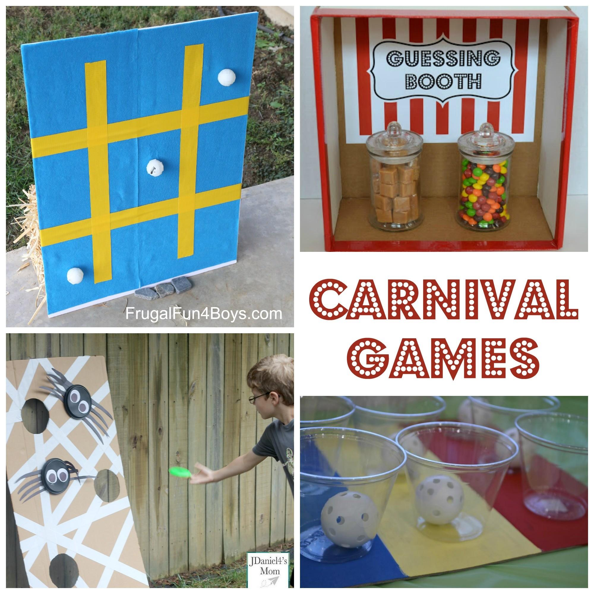 Simple Carnival Games Kids