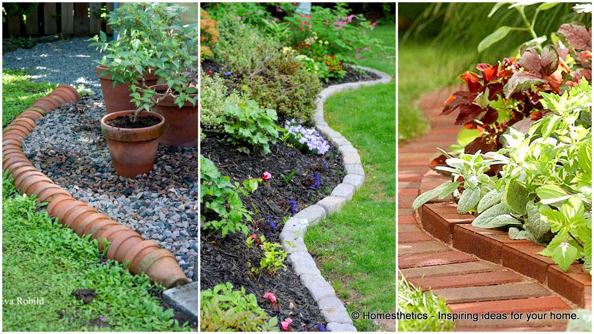 Simple Cheap Garden Edging Ideas Your
