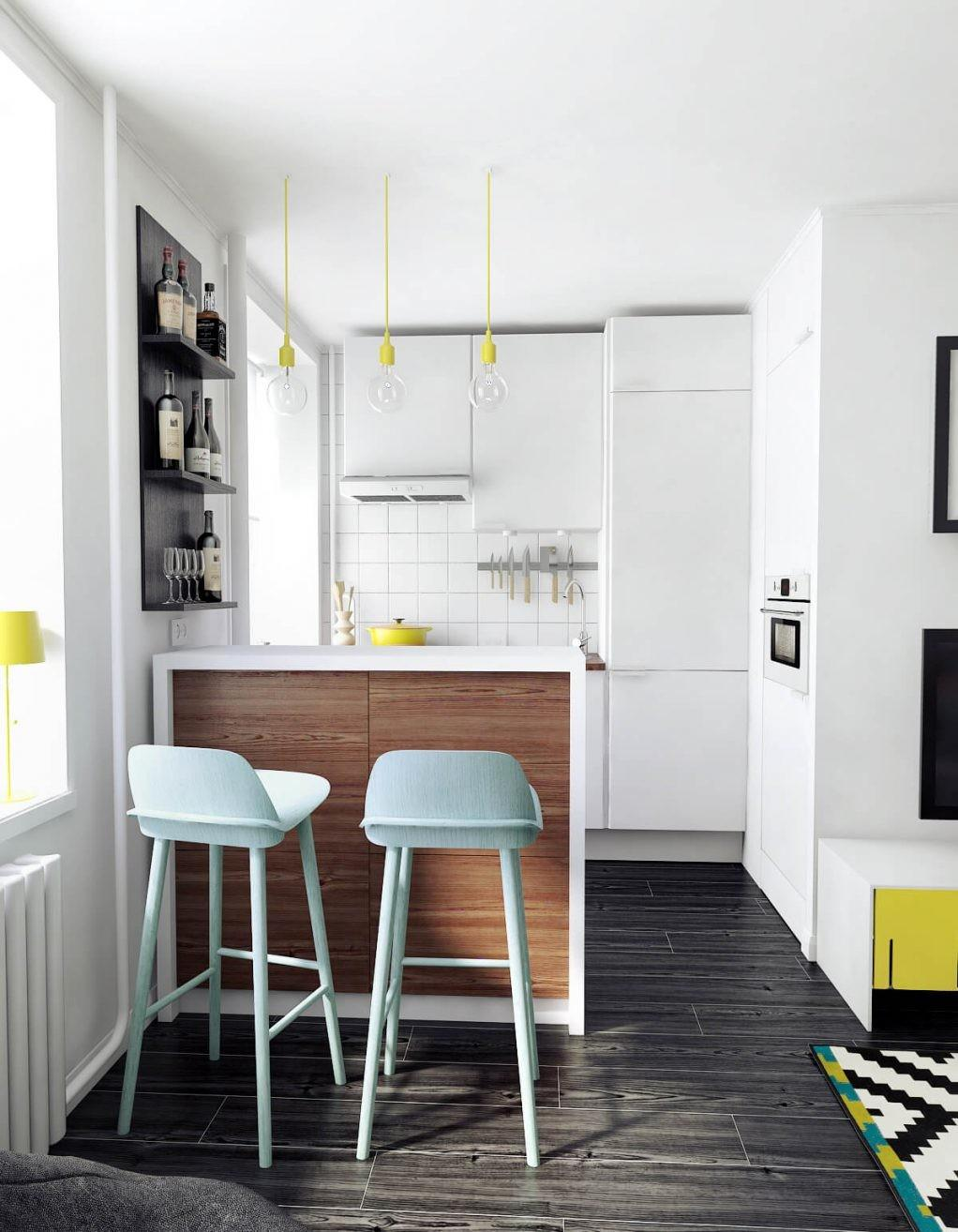 Simple Clever Space Saving Ideas Small Kitchens