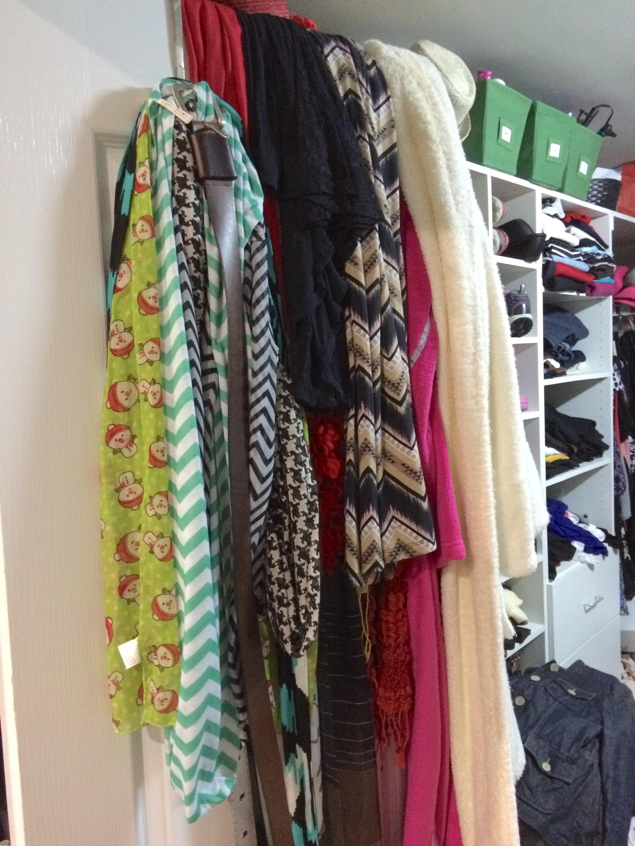 Simple Closet Storage Small Space Solutions
