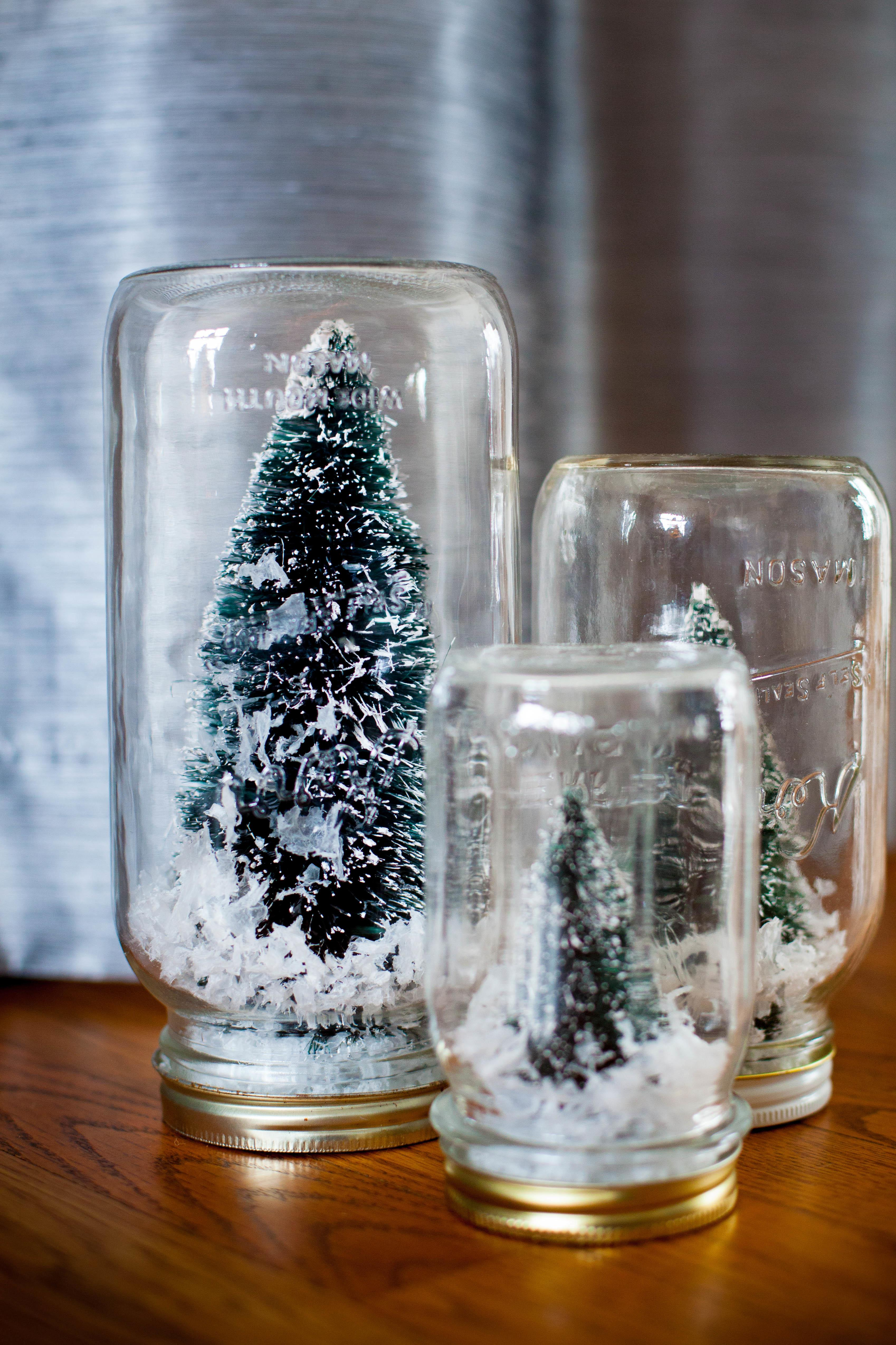Simple Craft Make Your Own Snow Globe Moms