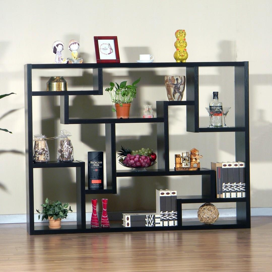 Simple Design Affordable Built Bookshelf Designs Large