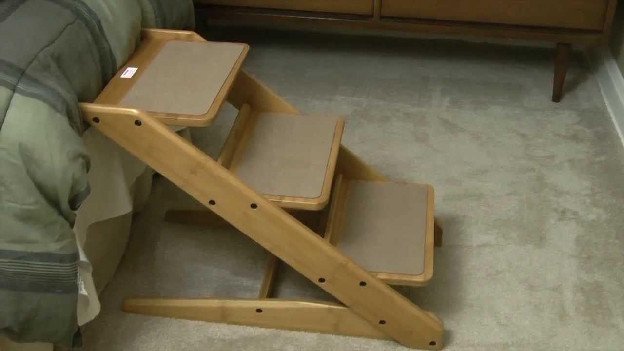 Simple Diy Dog Stairs Bed Translatorbox Stair Beds