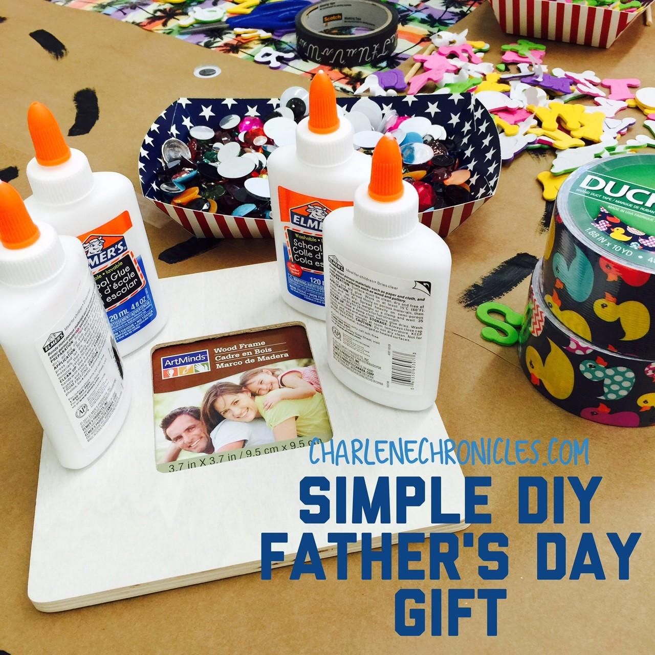 Simple Diy Father Day Gift Charlene Chronicles