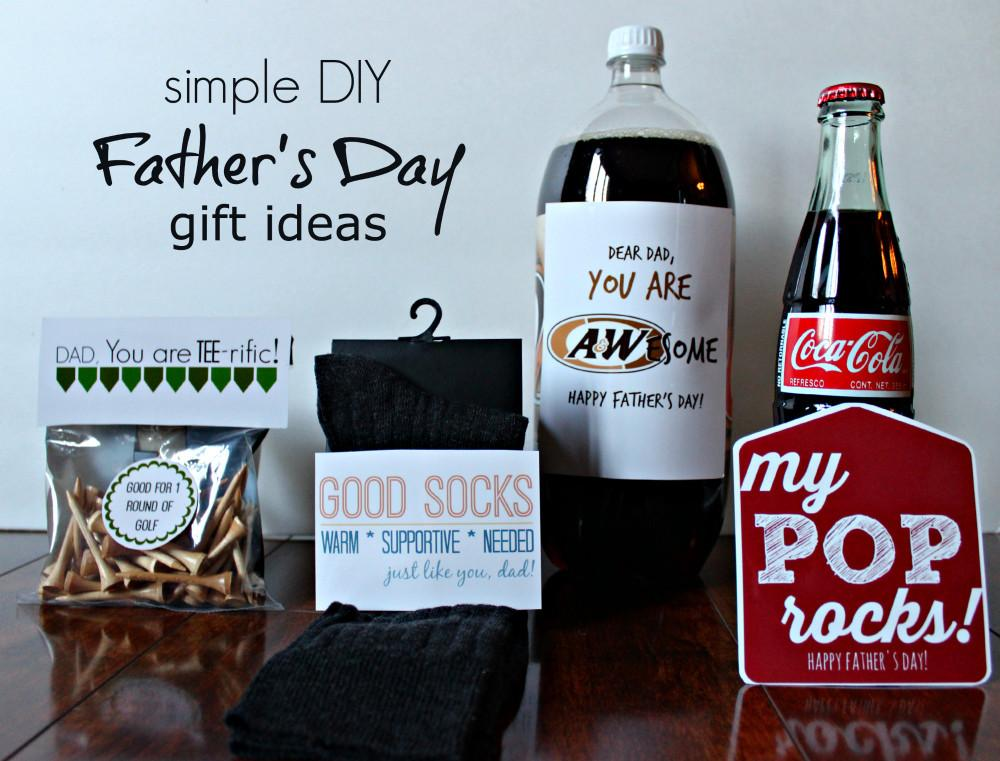 Simple Diy Father Day Gift Ideas Printable