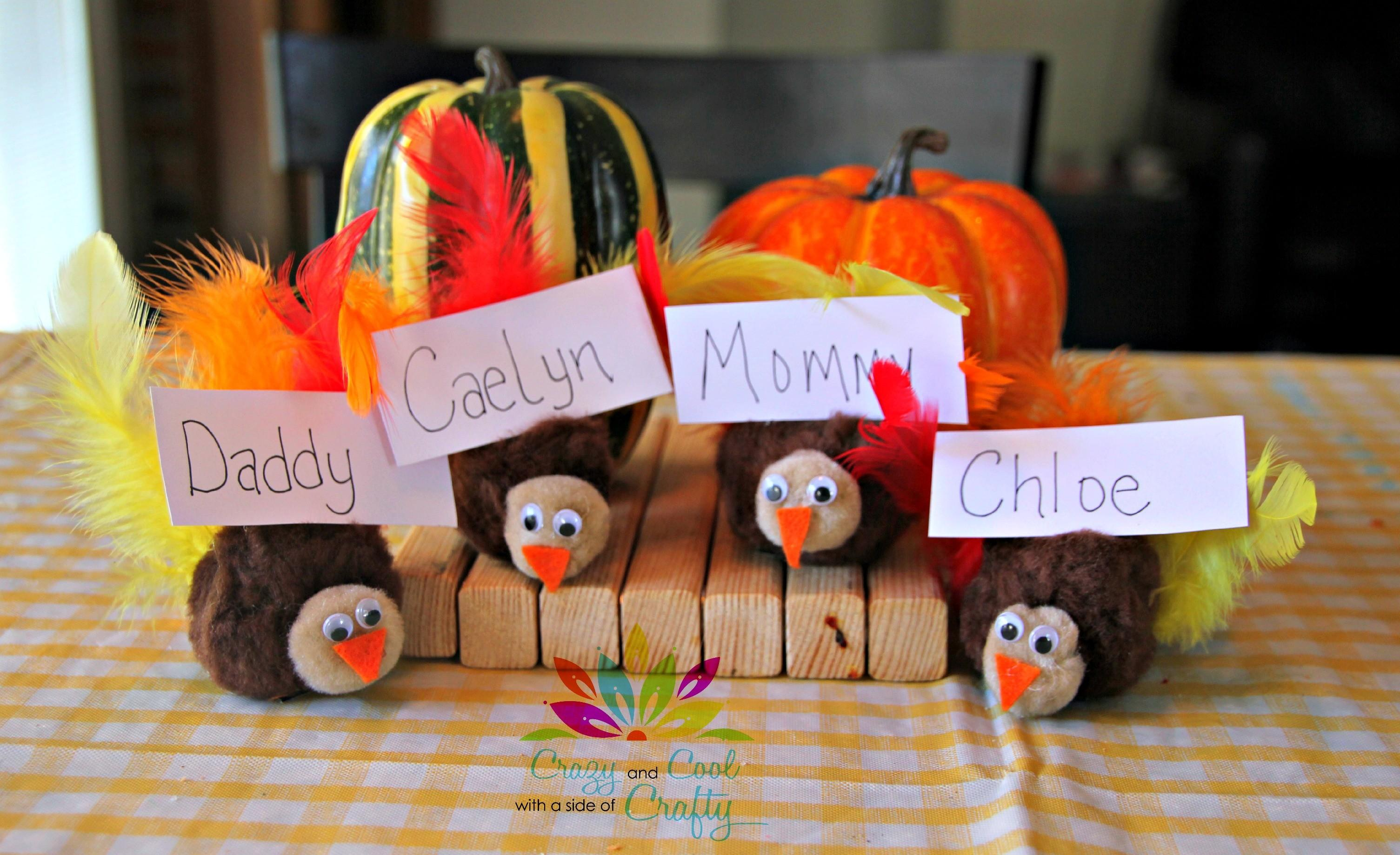 Simple Diy Ideas Thanksgiving Place Cards Fall Home