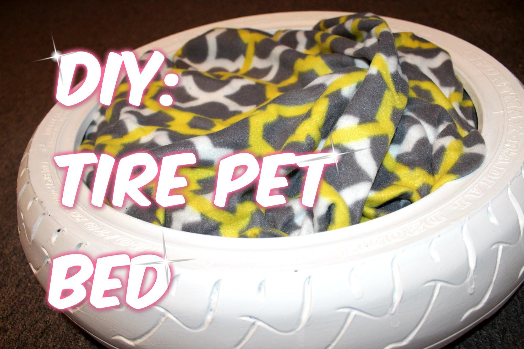 Simple Diy Tire Pet Bed