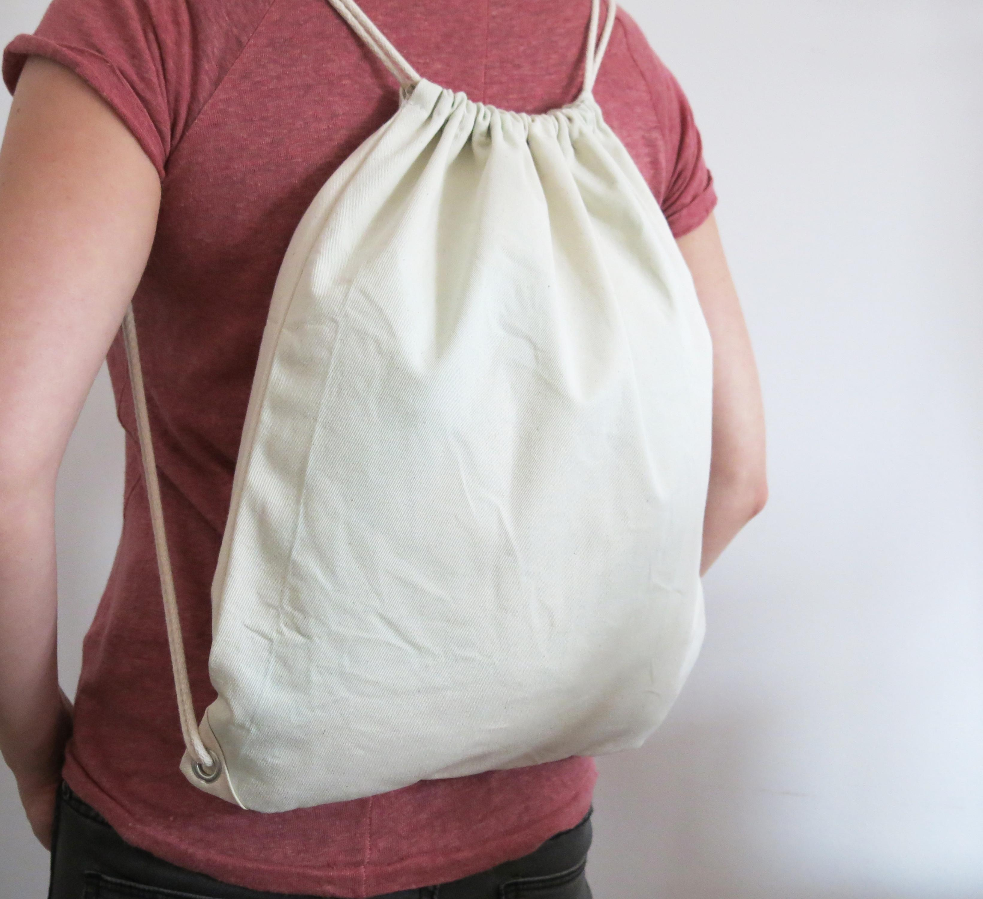 Simple Drawstring Bag Patterns Now Available Diy Sewing