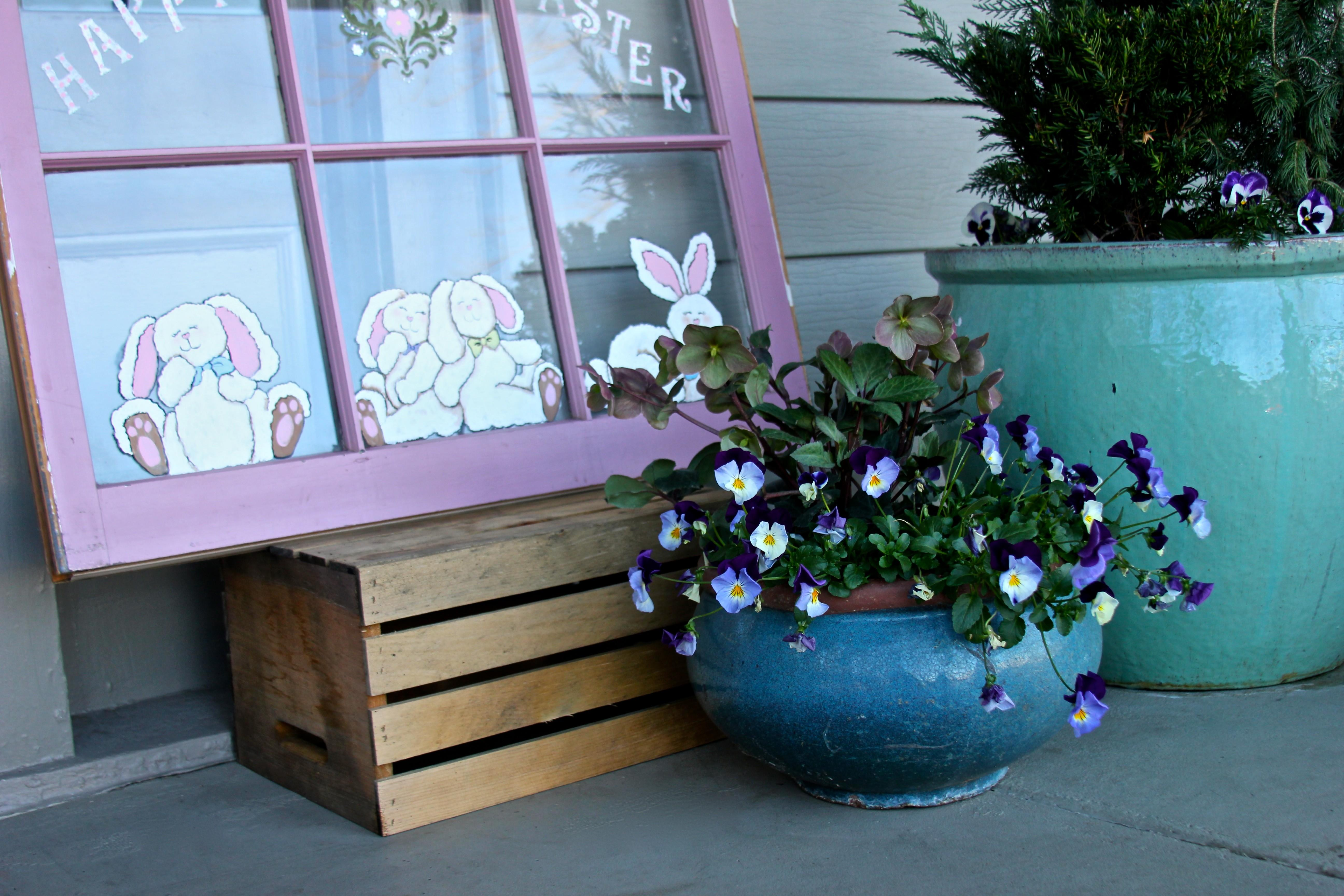 Simple Easy Easter Decorating Ideas Sweet Sorghum