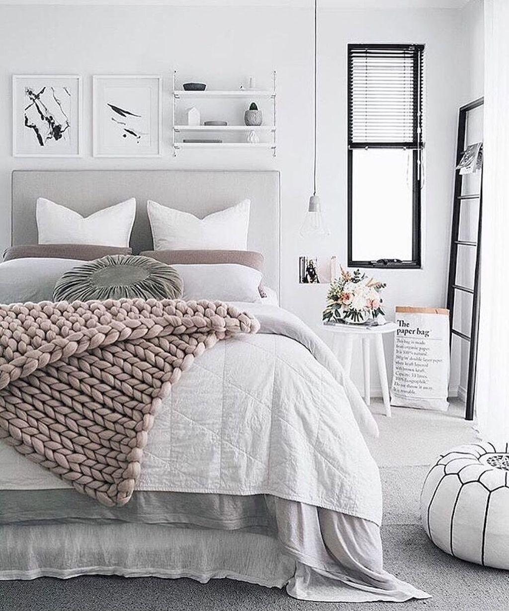 Simple Elegance Scandinavian Bedroom Designs Trends