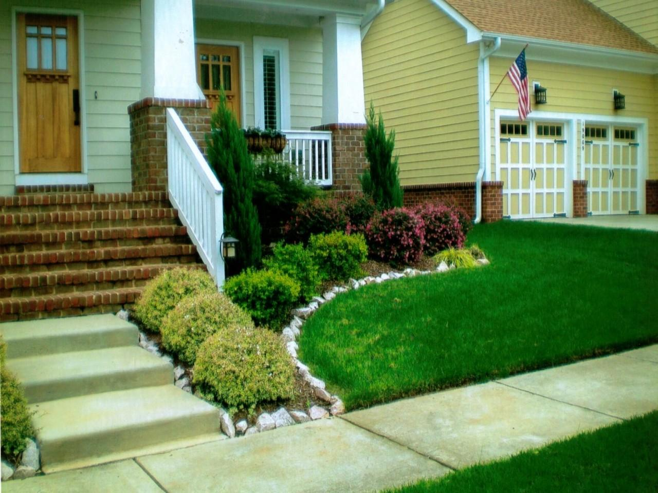 Simple Front Garden Design Ideas Best Yards