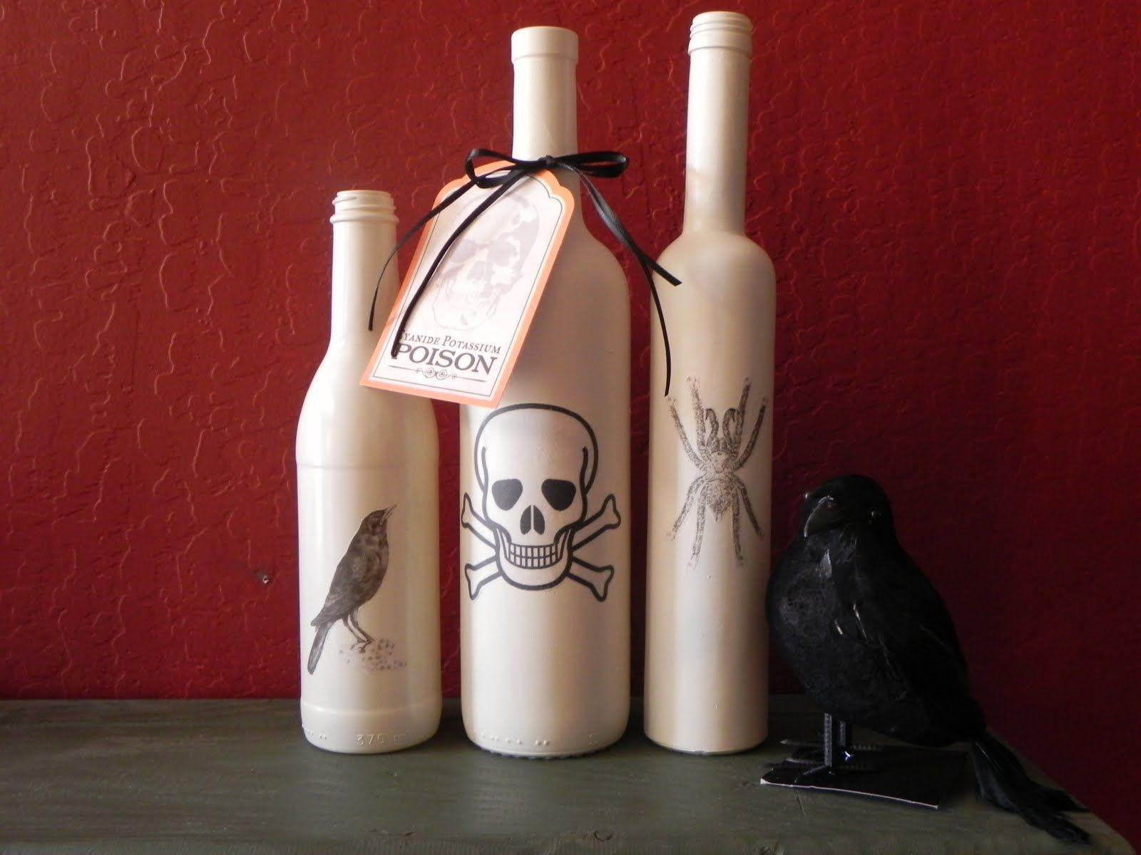 Simple Halloween Crafts Can Make Using Bottles