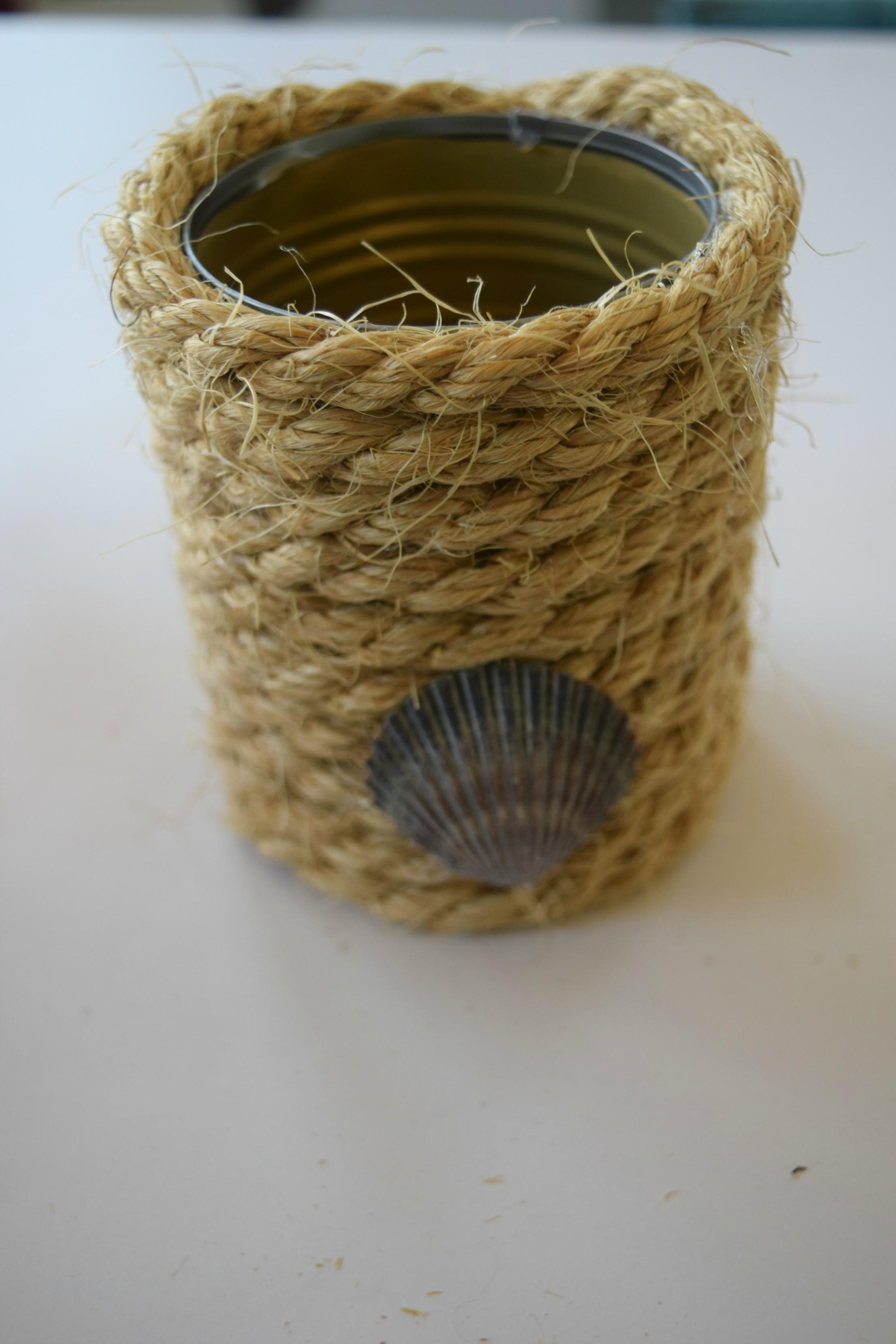 Simple Home Decor Using Rope Decorating Our House