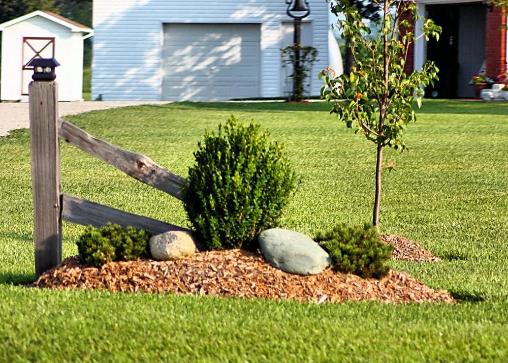 Simple Landscaping Here Made Char