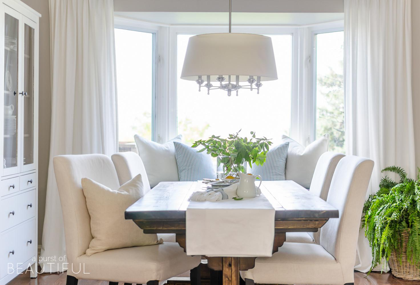 Simple Modern Farmhouse Dining Room Updates Burst