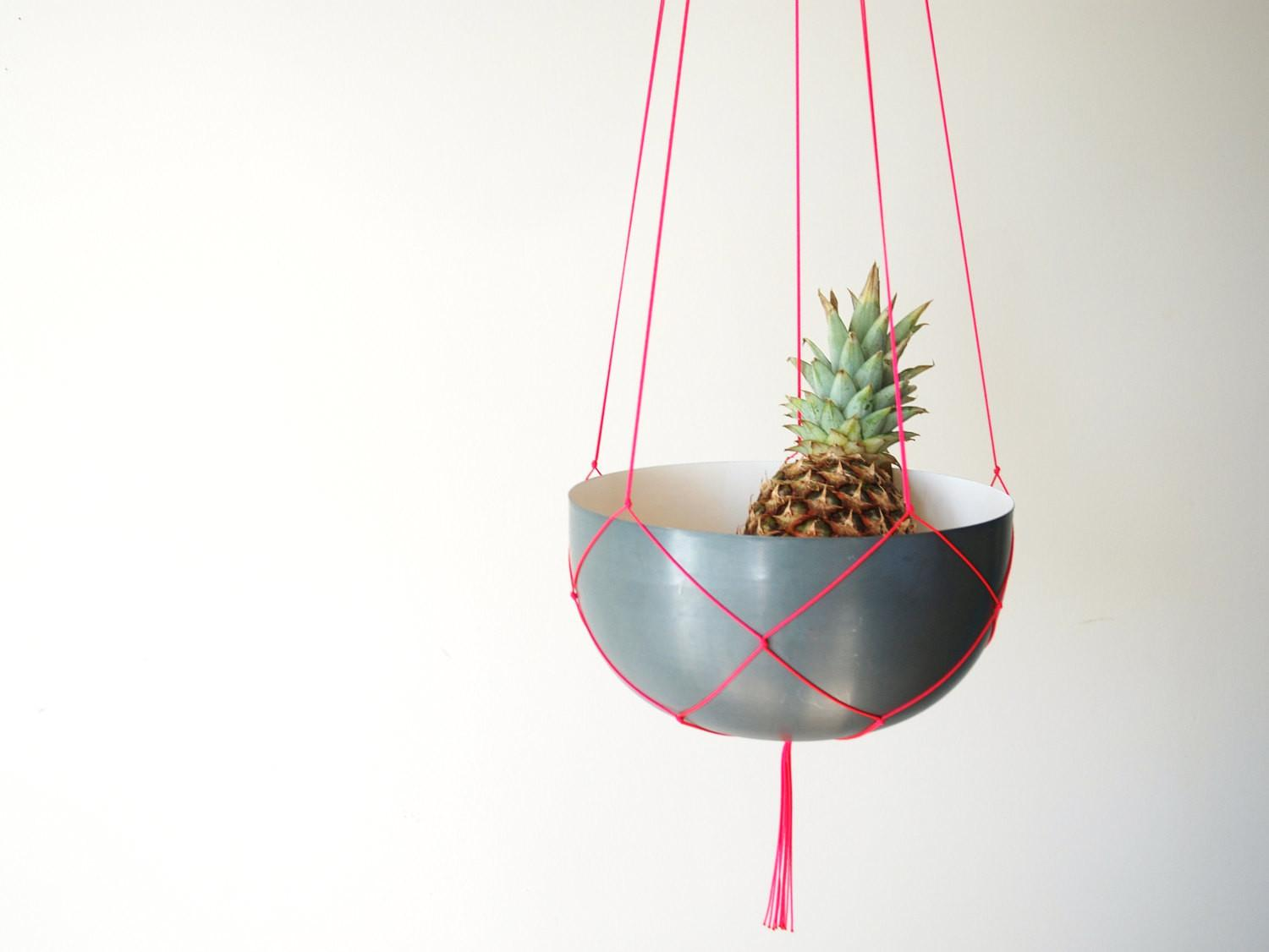 Simple Modern Long Macrame Plant Hanger Inches