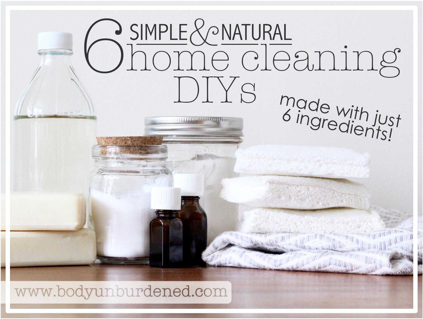 Simple Natural Home Cleaning Diys Made Just
