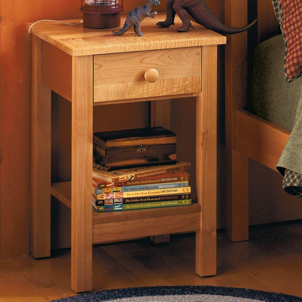 Simple Nightstand Plans Diy Make Your Own