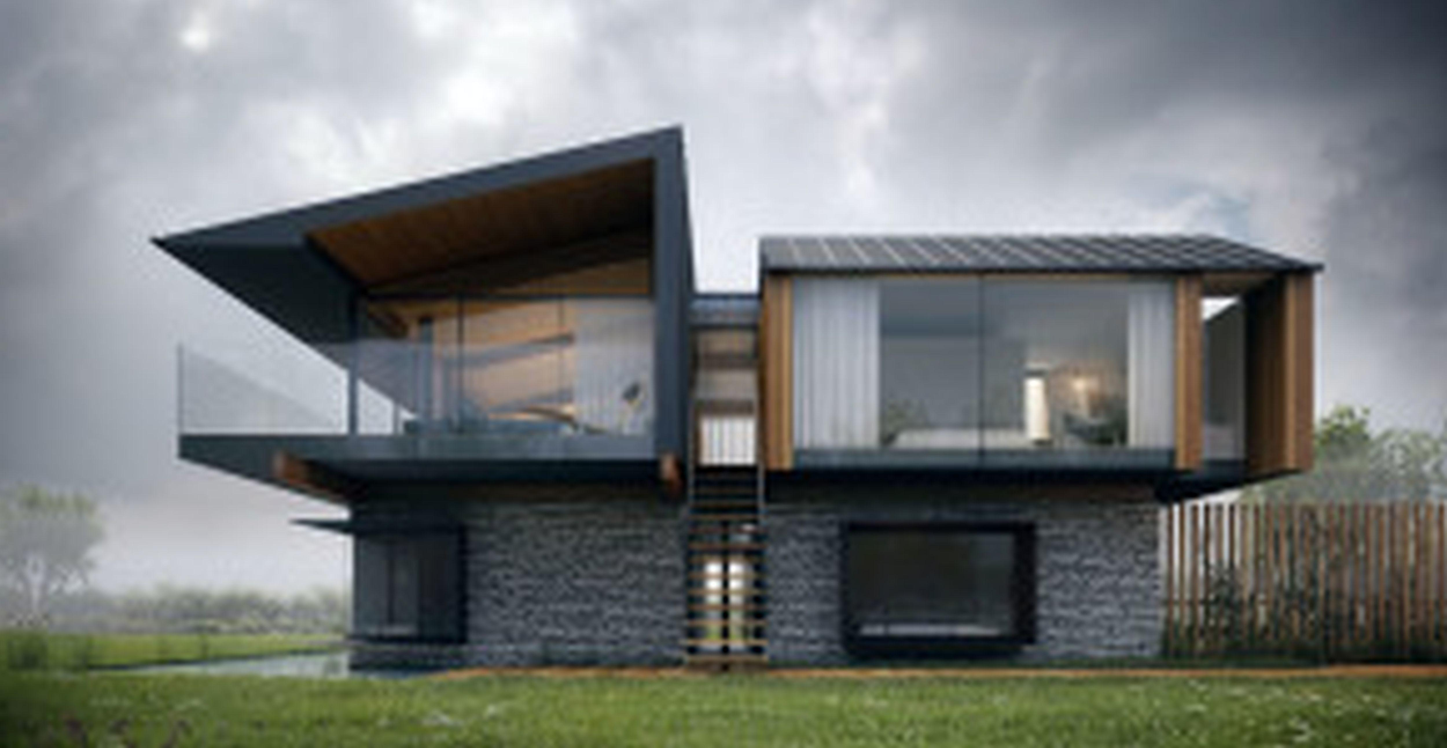 Simple Small Modern House Plans