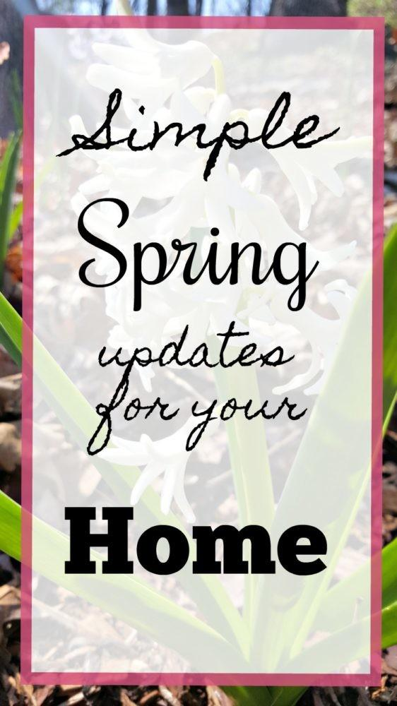 Simple Spring Updates Your Home Modern Monticello