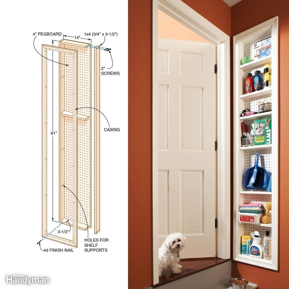 Simple Storage Solutions Small Spaces Family Handyman
