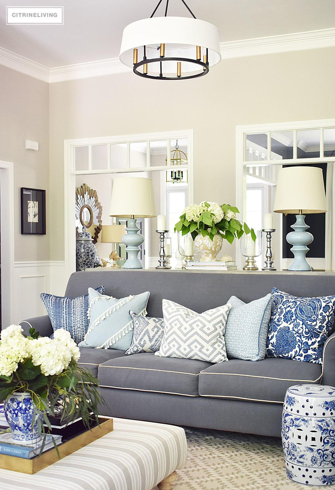 Simple Summer Decorating Tips Citrineliving