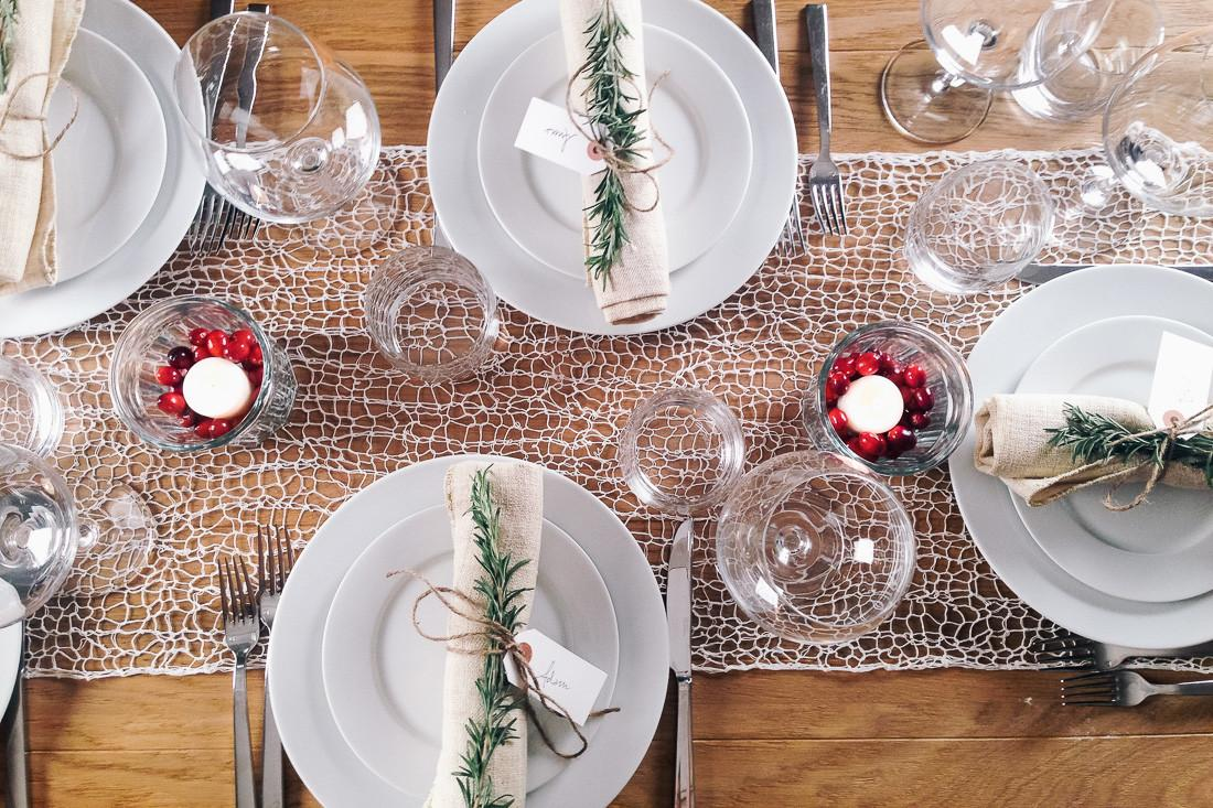 Simple Tips Setting Festive Holiday Table Whole