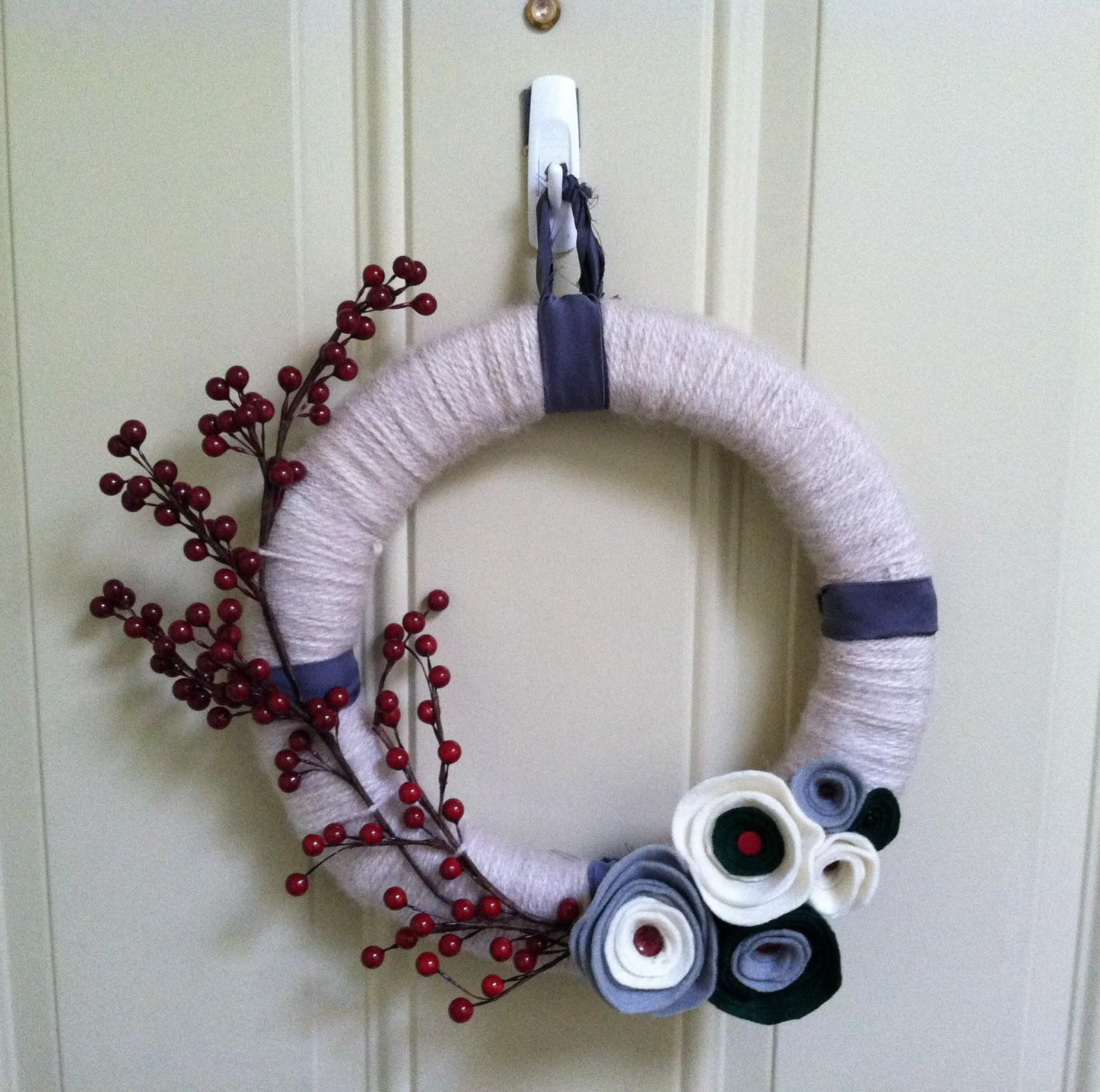 Simple Touch First Diy Wreath