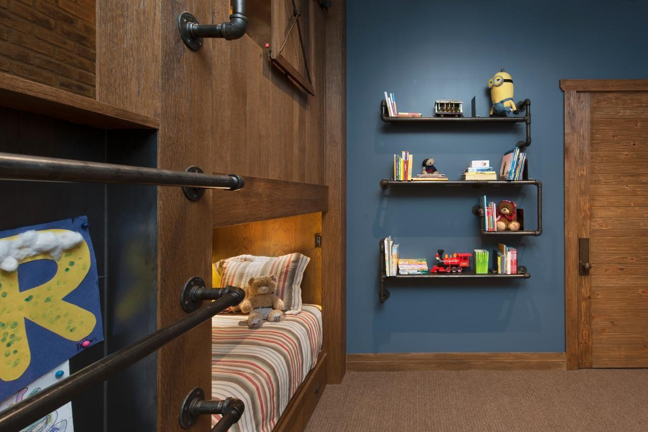 Simple Wall Bookshelves Kids Should Choose