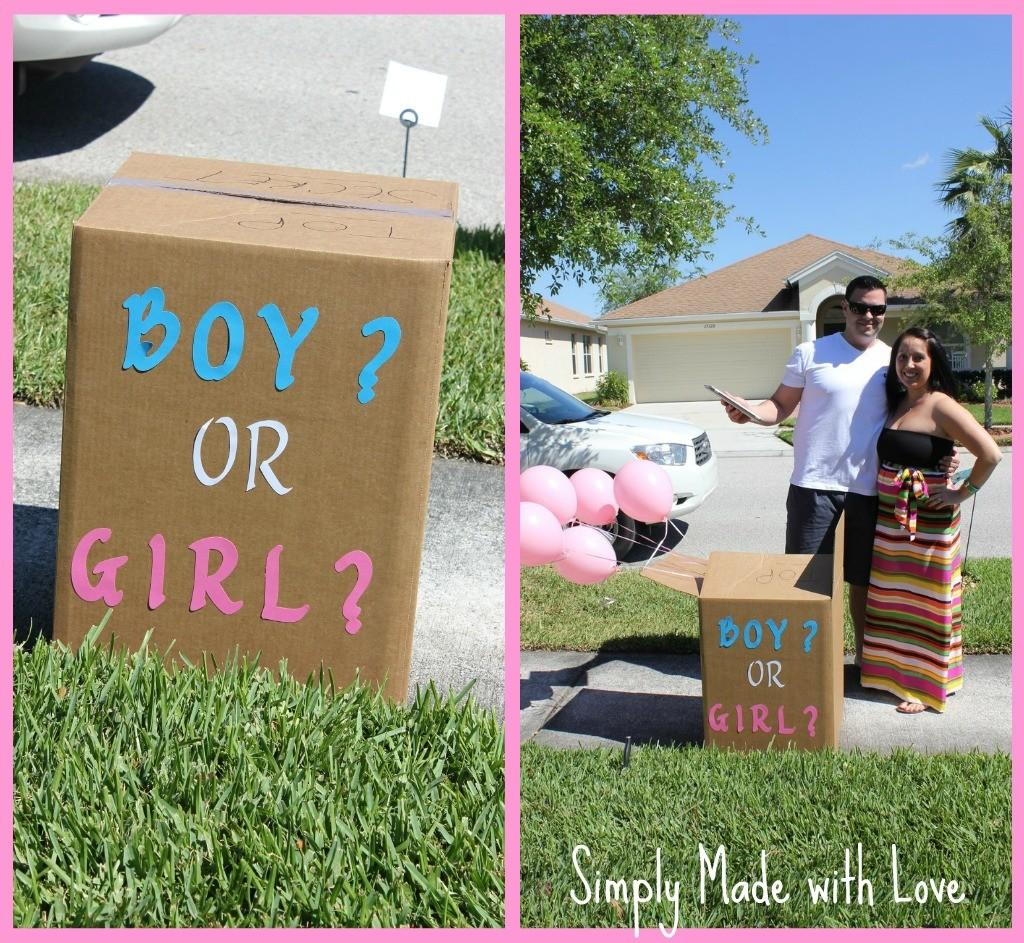 Simply Made Love Gender Reveal Party