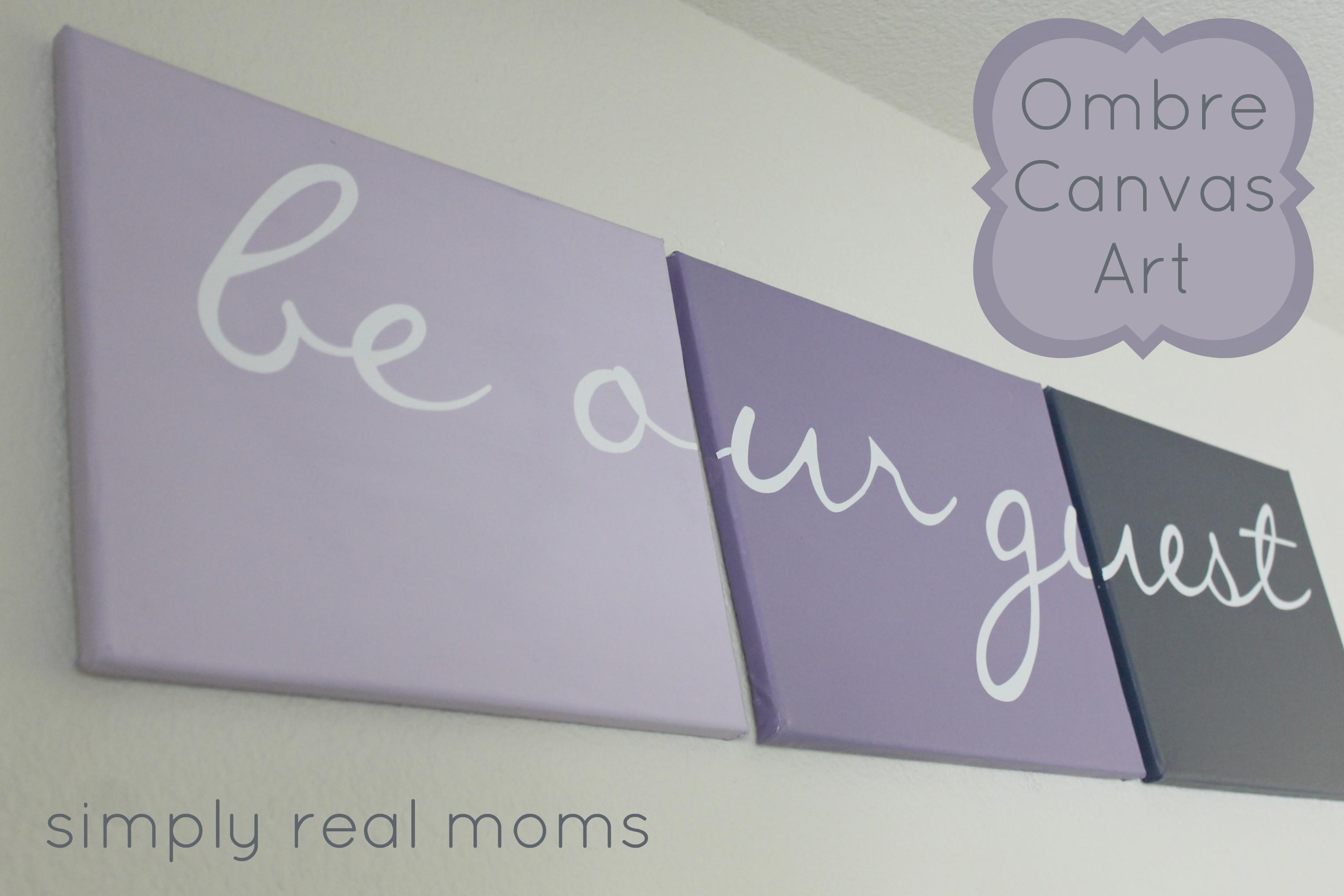 Simply Made Sunday Ombre Canvas Art