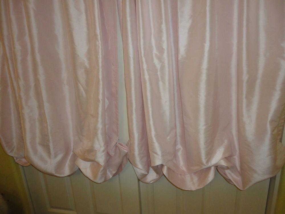 Simply Shabby Chic Curtains White Chiffon Floral