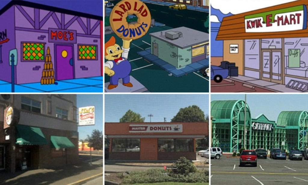 Simpsons Real Location Springfield Revealed