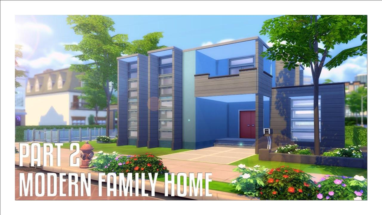 Sims House Build Modern Family Home Interior
