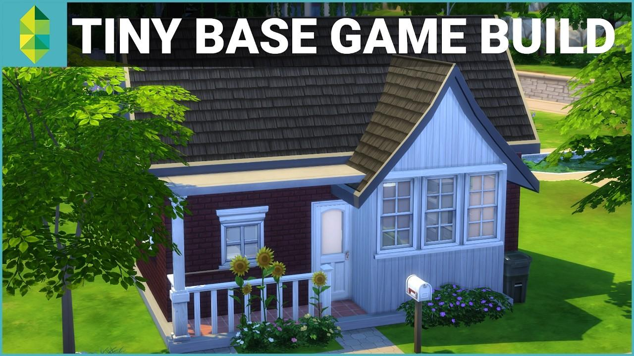 Sims House Building Tiny Base Game 10k Budget