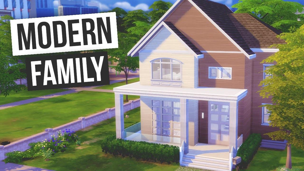 Sims Speed Build Modern Family Doovi
