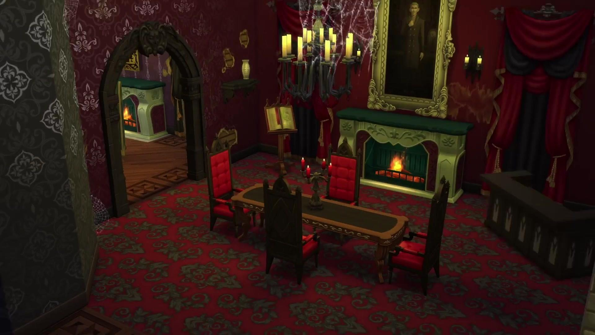 Sims Vampires Screens Trailer