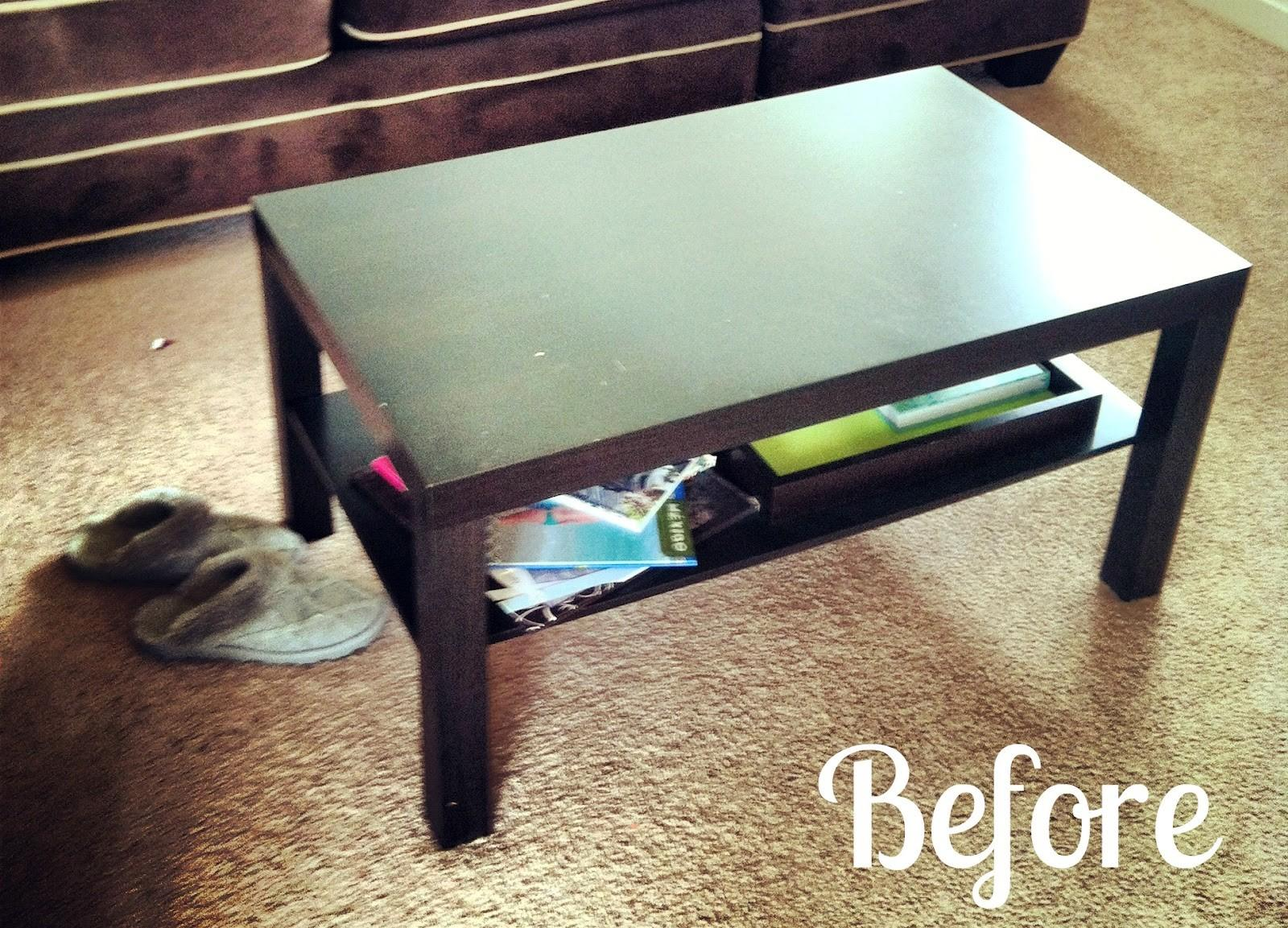 Sincerely Jen Diy Coffee Table Makeover
