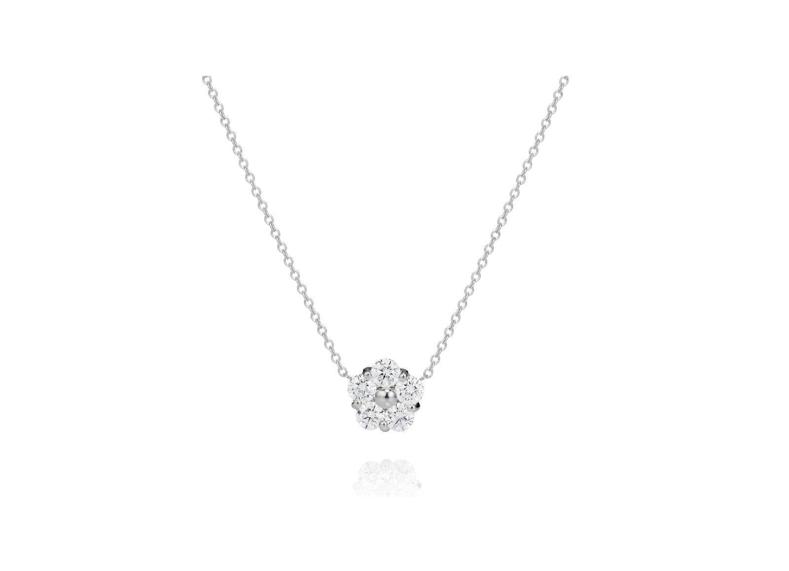 Single Diamond Pendant Designs Eternity Jewelry